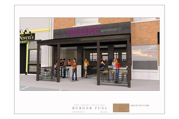 Burger Fuel - Proposed Project/Rendering