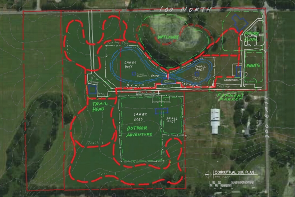 Rudy's Dog Park and Lake City Animal Clinic