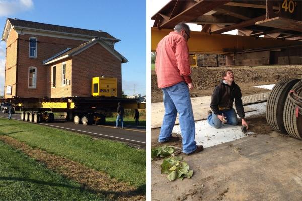 Kincaid House Relocation